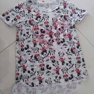 ****SOLD****SOLD********* T-SHIRT TOP MINNIE MOUSE