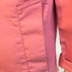 GAP Jackets & Coats - Gap women's trench coat jacket size M pink