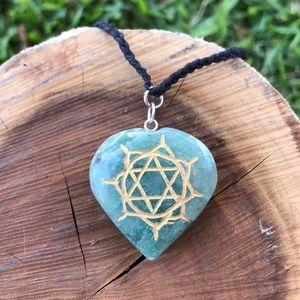 Heart Chakra Crystal Necklace