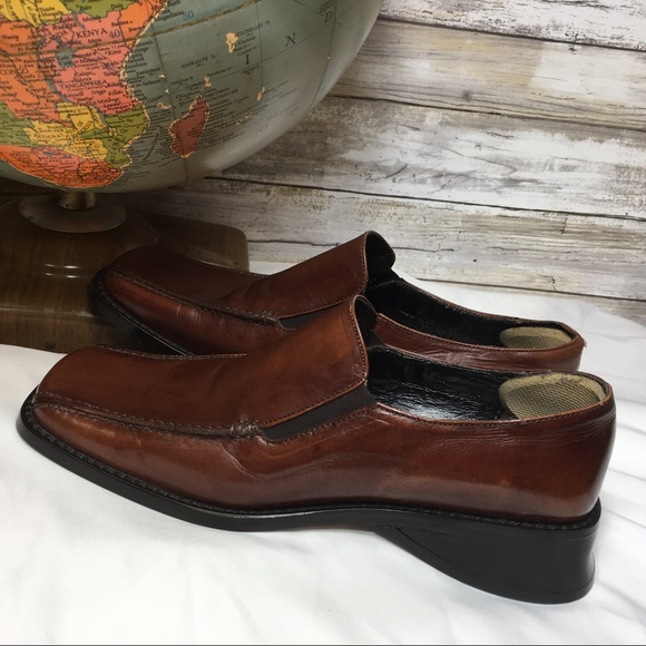 9c0b08cf7eade Vintage 80's Joan & David Leather Loafers Italy