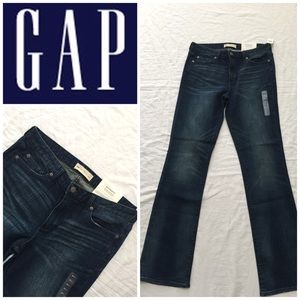 NWT Gap Authentic Perfect Boot Cut Jeans 👖 30L
