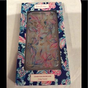 Lilly Pulitzer phone case 6/6s Going Coastal