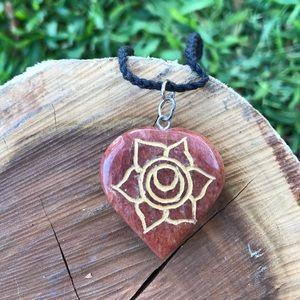 Sacral Chakra Crystal Necklace