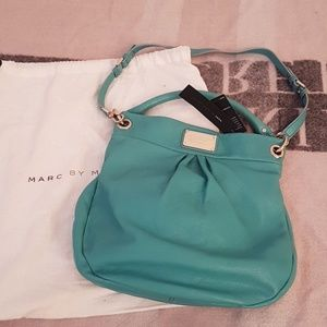 Marc by Marc Jacob's turquoise leather bag