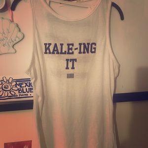 ****Kale-ing It Victorias Secret Sport Tank