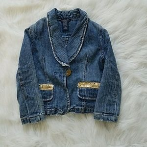 GUESS toddler girls jacet size S(4)
