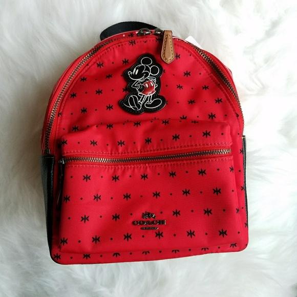 2601724fe0aa Coach Mini Charlie Backpack Prairie Bandana Print