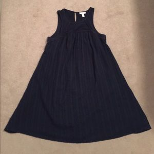 Liz Lange Navy Maternity Dress