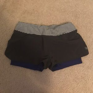 MPG running shorts