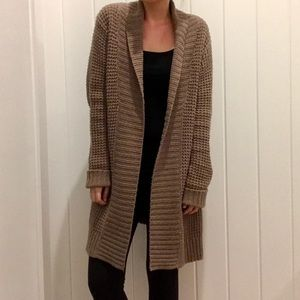 OLD NAVY // Long Open Front Cardigan Sweater Coat