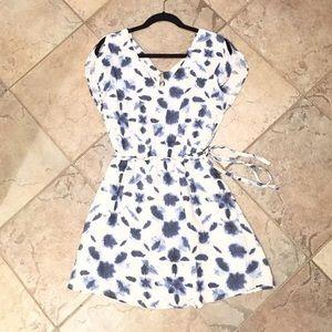 BB Dakota Tie Dye Lined Dress XS