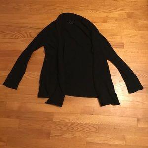 H&M black open cardigan