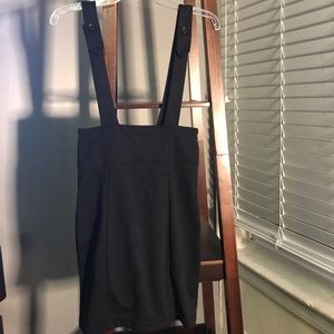 Bodycon suspender skirt size small