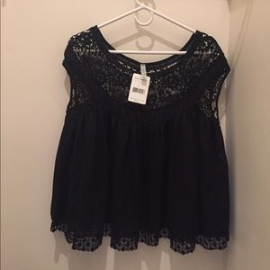 NWT Free People crocheted top