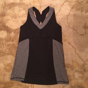 Black & grey activewear