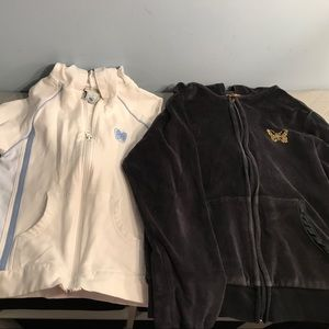 Zip front jackets size 10 Old Navy & Fashion Bug