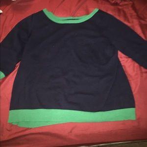 Old Navy brand plus size preppy scoop neck sweater