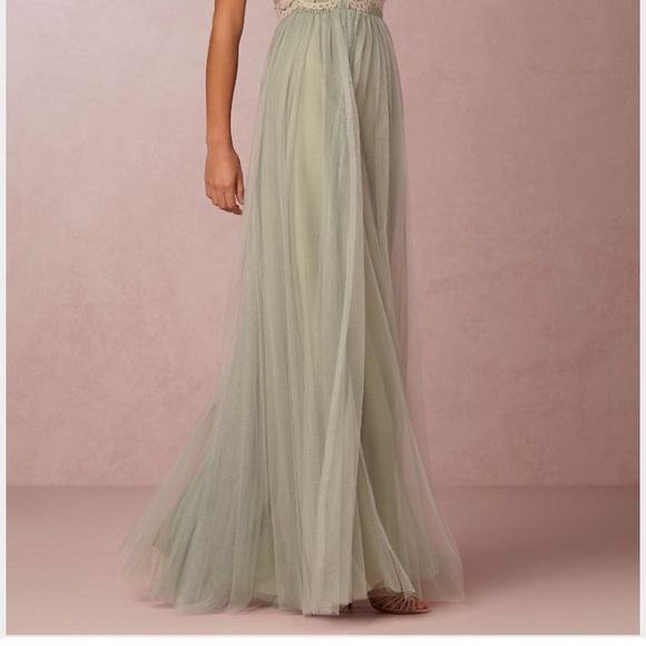 5d084bce3d Jenny Yoo Dresses & Skirts - Jenny Yoo Collection sea foam skirt size 6