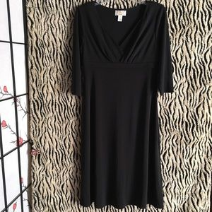 Talbots Petites Black Dress