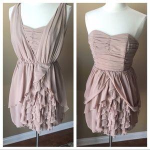 Ruffled H&M Dress ~ Wear 2 Ways