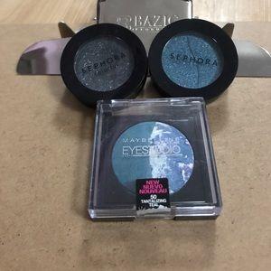 Eyeshadow mini bundle! Sephora and Maybelline!