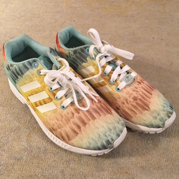 Le Adidas Torsione Multicolore Featherprint Scarpe Poshmark