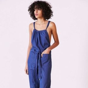 BDG Josephine Chambray Overall Jumpsuit
