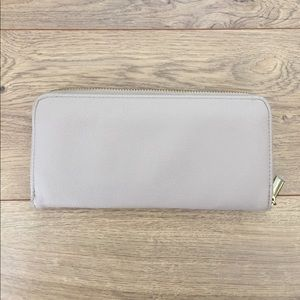 Handbags - Tan Zipper Wallet