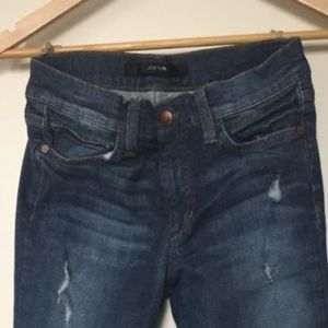 Joe's Bootcut Petite Jeans, Distressed