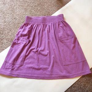 American Apparel lilac skirt