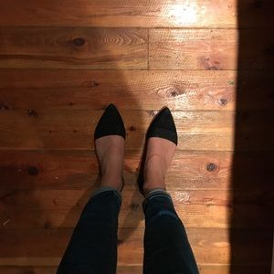 Madewell D'orsay flats size 9