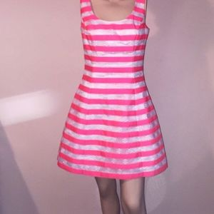 Lilly Pulitzer Pink Striped Dress