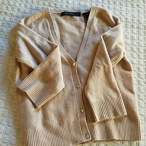 """French connection light pink """"nude"""" cardigan"""
