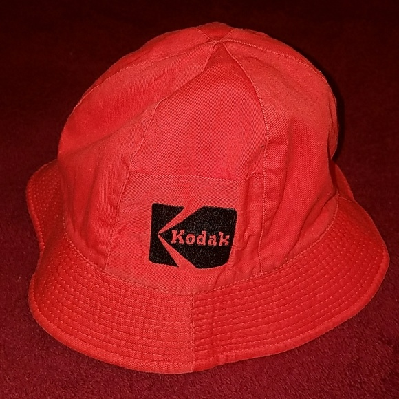 Kodak Other - Vintage 1980 s Kodak Reversible Bucket Hat ... 1dbcb9d05ff