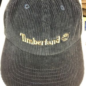 01c3520b7d8 Timberland Accessories - Vintage Corduroy Timberland Leather Strapback Hat