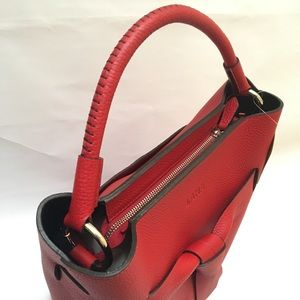 Handbags - Red chic Genuine leather handbags