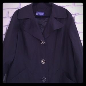 London Fog jacket black perfect condition