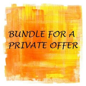 Bundle and save!  Bundle for private offers!