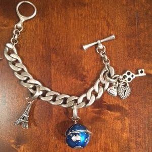 BUNDLE Lucky Brand Charm Bracelet + 2 Charms