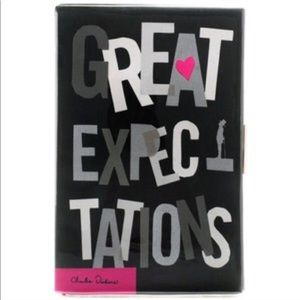 """NWT Kate Spade """"Great Expectations"""" Book Clutch"""
