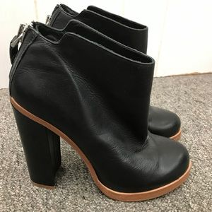 DOLCE VITA High Heel Ankle Boots Booties 8.5