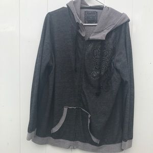 Maurice's hooded jacket EUC
