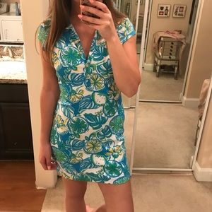 ADORABLE Lilly pulitzer rayna polo dress