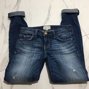 Current/Elliot The Rolled Skinny in Wager Sz 24