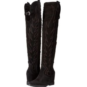 NWOB Ash Gaucho over the knee boots size 37