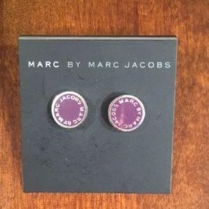 Marc Jacobs™ Logo Disc Enamel Studs Earrings