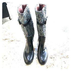 Rare Missoni rain boots