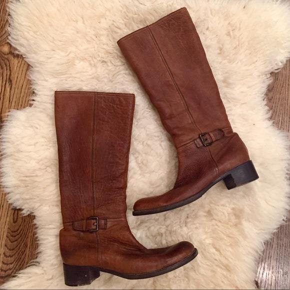 9673f98e2a71 Miu Miu Shearling Lined Vintage Tall Boots. M 59c0889e4127d0b568029455