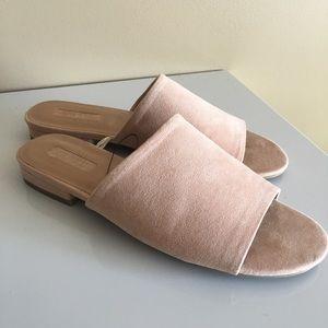 ✨✨TRENDING! Pink Slide Mule Sandals! Forever 21!