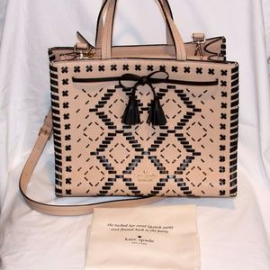 kate spade cashew hayes street woven isobel